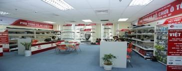Hệ thống cửa hàng - showroom