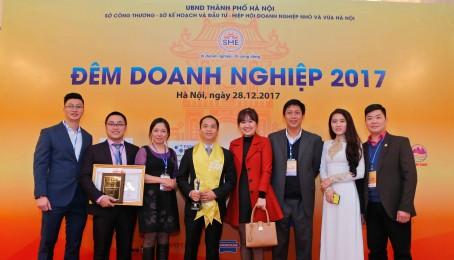 """Tập Đoàn Việt Phát được tôn vinh trong """"Đêm Doanh Nghiệp 2017"""""""