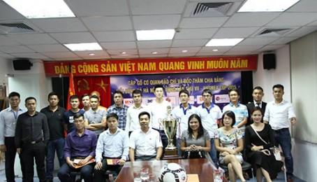 Công ty TNHH PTTM Việt Phát vinh dự tham dự Buổi họp báo về Giải bóng đá Hà Nội mở rộng lần thứ VII-HASMEA CUP 2015