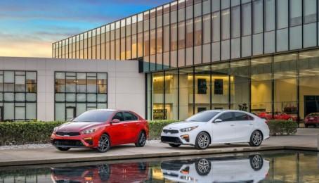Kia Forte 2019 thế hệ mới chính thức lộ diện tại triển lãm Naias 2018