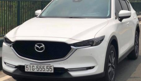 Mazda CX-5 biển ngũ quý 5 về tay