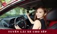 Việt Phát tuyển dụng lái xe cho Ban Lãnh Đạo công ty