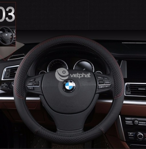 Bọc Vô lăng da cao cấp - Xe BMW