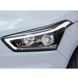 Độ đèn pha nguyên cụm xe Hyundai Creta-IX25 2015