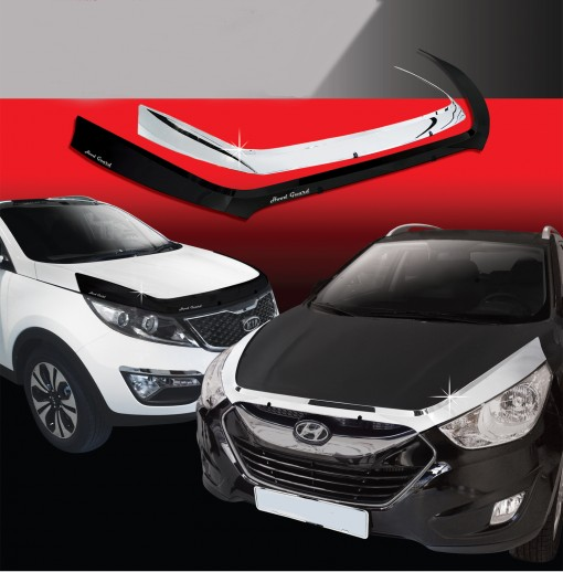 Nẹp trang trí mặt calang xe Hyundai  New Santafe  2006~2008