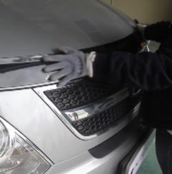 Nẹp trang trí mặt calang xe Hyundai  Grand Starex 2015  2015~2017