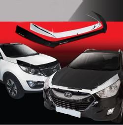 Nẹp trang trí mặt calang xe Hyundai  Santafe 2005  2005~2005