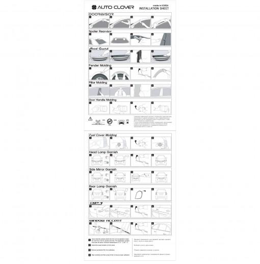 Ốp tay cửa Chevrolet_U.S.A.  Silverado 2014_DCB  2014~Current
