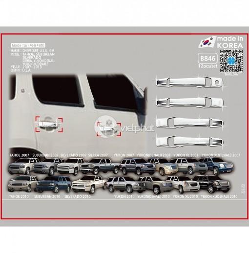 Ốp tay cửa Chevrolet_U.S.A.  Silverado 2007_DCB  2007~2013