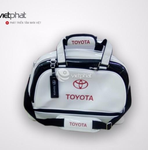 Túi Cao Cấp Xe Hơi - Toyota trắng
