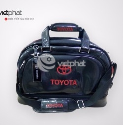 Túi Cao Cấp Xe Hơi - Toyota đỏ