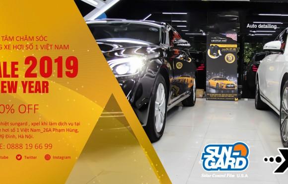 Cùng Việt Phát Pro dán phim cách nhiệt Sun-gard cho xe Lexus với gói phim phiên bản đặc biệt xuyên sáng 15%
